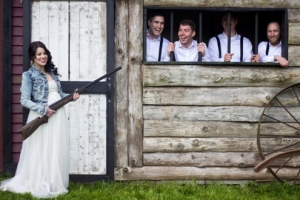 Melanie-Wedding-Shot-gun-with-Bride-300x200